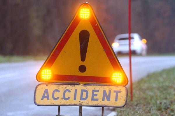 Loire : un accident de la route, près de Montbrison, fait deux victimes et un blessé grave ce lundi 1er février 2021