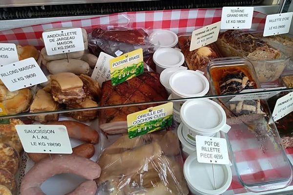 Les habitants ont pu acheter en vente directe de la viande de qualité produite dans le Berry