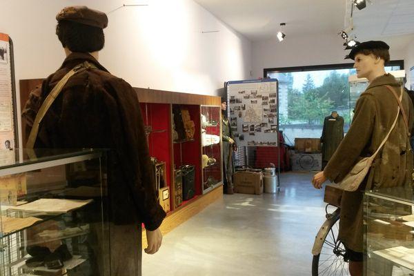 Le musée a été installé dans un nouveau bâtiment de 140 m².