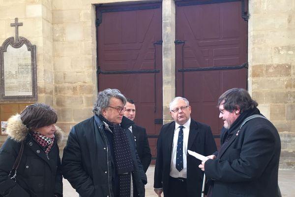 Gilbert Collard du Rassemblement National dans la Marne