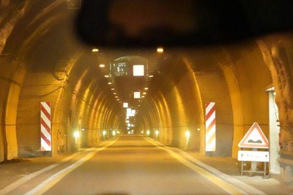 Le tunnel existant du col de Tende.