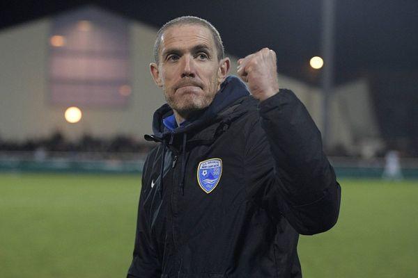 Damien Ott, entraîneur de l'US Avranches