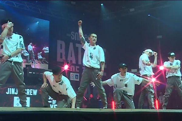 Le crew coréen, champion du monde de danse hip-hop ce samedi à l'Arena de Montpellier - 17 novembre 2018