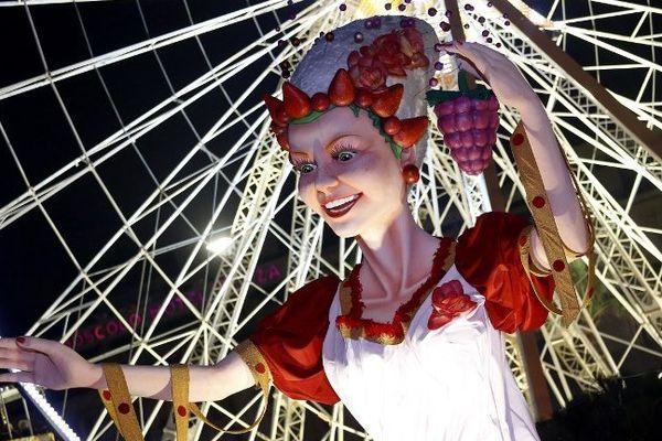 Lors du Carnaval 2014.