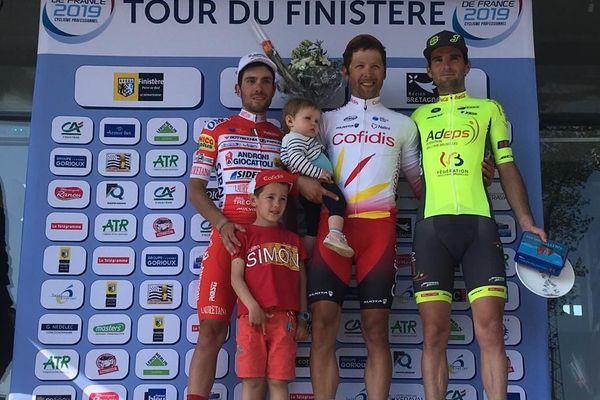 Julien Simon victorieux du Tour du Finistère
