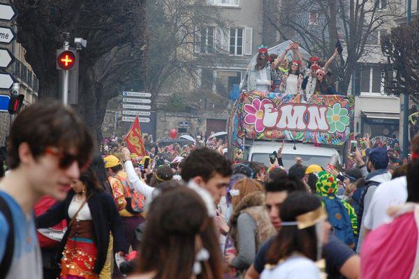 Carnaval étudiant de Caen en 2015