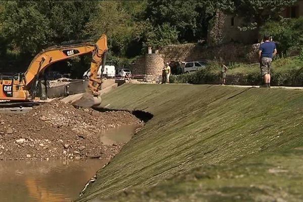 Trois barrages vont être détruits en Lozère sur le Tarn - août 2018