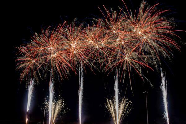 Les spectacles de feux d'artifices sont nombreux lors de la célébration de la Fête Nationale.