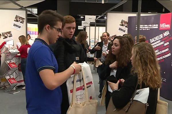 Le salon des études supérieures a lieu au centre des congrès de Caen jusqu'au samedi 13 octobre
