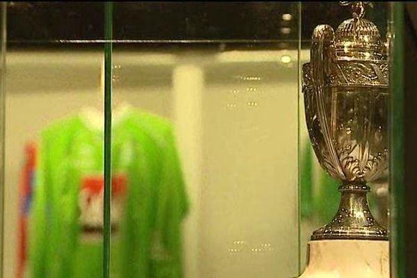 Les concepteurs du musée ont opté pour un parcours chronologique qui s'achève dans la salle des trophées...