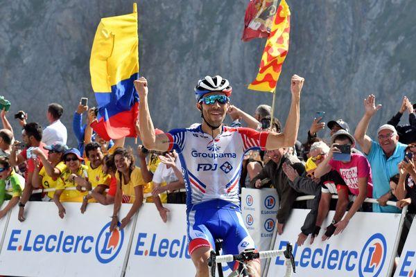 Thibaut Pinot vainqueur au Tourmalet sur le Tour 2019