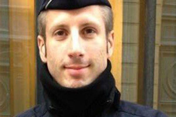 Le policier Xavier Jugelé, 37 ans, assassiné le 20 avril 2017.