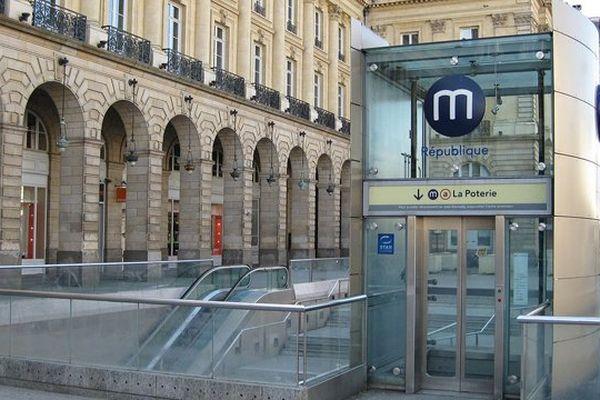 La place de la République à Rennes a été le théâtre de plusieurs agressions