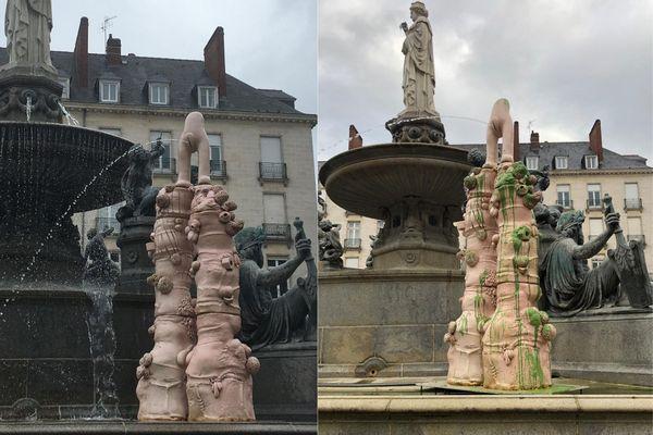 Une semaine à peine après le lancement du Voyage à Nantes, l'oeuvre d'Elsa Sahal a été vandalisée.