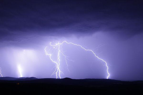 Des orages sont attendus jusqu'à 20h dans la région.