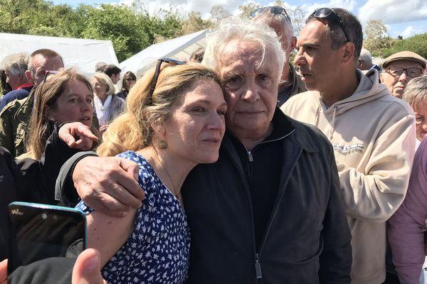 Caroline Jolivet et Michel Sardou