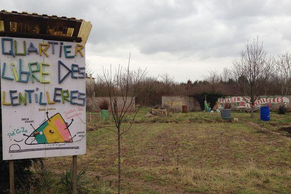 Le potager du quartier libre des lentillères a été fondé en 2010