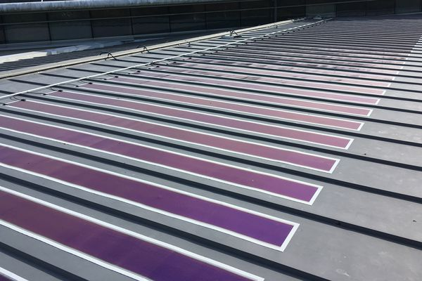 500M2 de toiture photovoltaïque sur le toit du collège Mendès-France