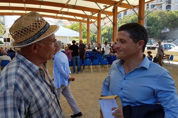 Jean-Félix Acquaviva, secrétaire national de Femu a Corsica et député de la 2e circonscription de Haute-Corse, en juin 2019 à Bastia.