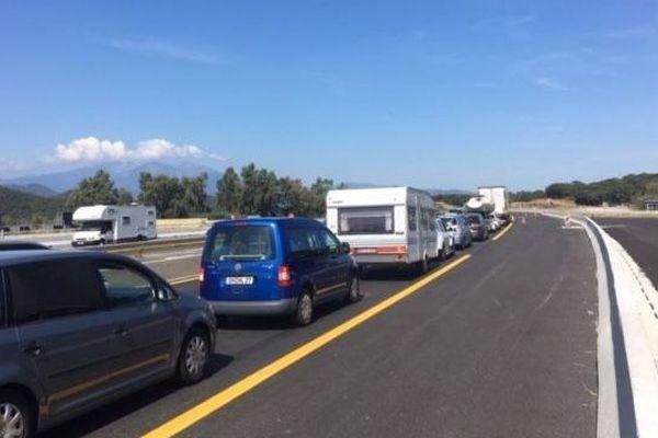 Les retours estivaux mais aussi en raison du report de trafic des Pyrénées-Atlantiques vers les Pyrénées-Orientales lié à la tenue du sommet international du G7 à Biarritz devraient provoqués d'importantes difficultés de circulation au Boulou (66).