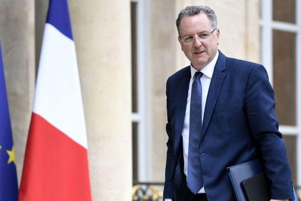 Richard Ferrand, ministre de la Cohésion et des territoires, à l'entrée de l'Elysée - 24/05/2017