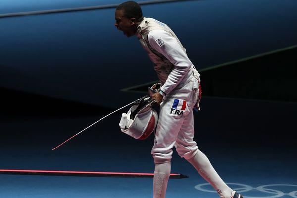 Enzo Lefort, lors des Jeux olympiques de Rio, en août 2016.