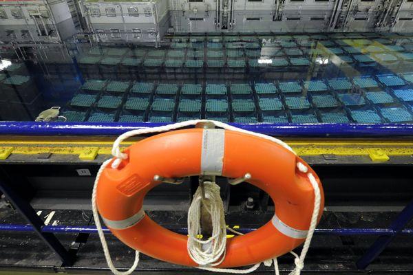 La piscine de stockage des déchets nucléaires de La Hague - Photo d'illustration