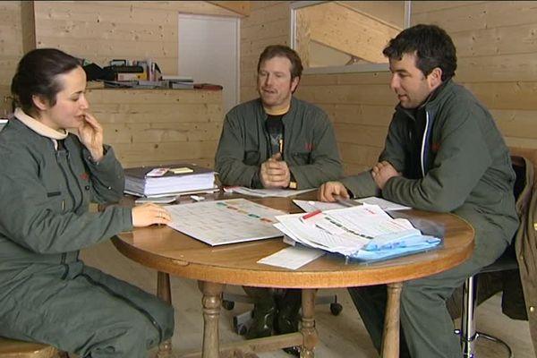 Mieux vaut s'entendre pour travailler en Gaec, c'est ce qu'ont compris les associés du GAEC de la Vuillaumière