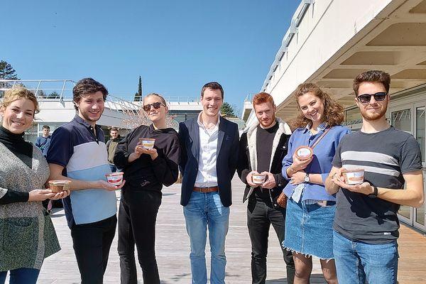 En 2019, Arthur Lepagnol avait organisé une dégustation, avec les étudiants de l'EM Lyon.