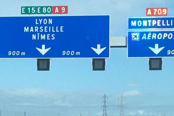 Depuis ce 28 février 2020, l'aéroport de Montpellier Méditerranée est enfin signalé sur l'A9.