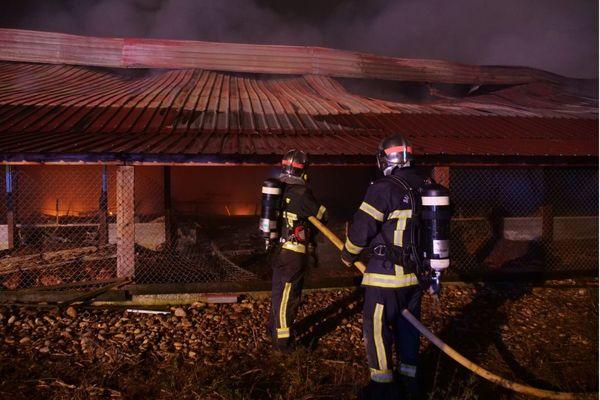 Trente neuf pompiers ont été mobilisés pour venir à bout de ce sinistre