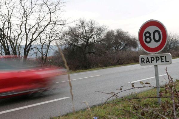 Le gouvernement veut abaisser la vitesse maximale sur les routes secondaires et la faire passer de 90 à 80 km/heure.