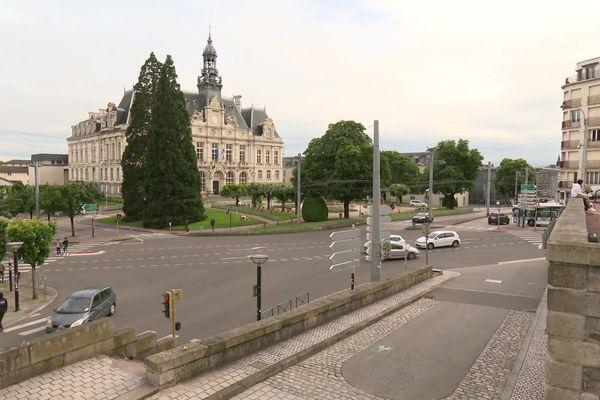 Centre-ville de Limoges, première semaine de déconfinement