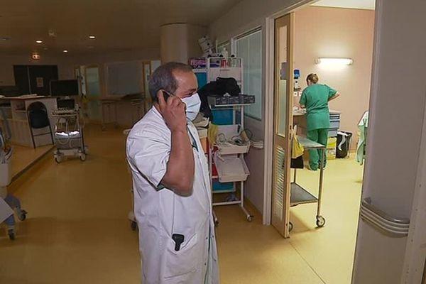 L'hôpital de Guéret. Les passages à l'hôpital ont bondi en deux semaines, notamment en Haute-Vienne et en Creuse.