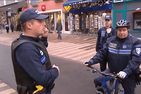 Patrouille, surveillance.. la police municipale de Belfort redouble de vigilance mais sans arme à feu.