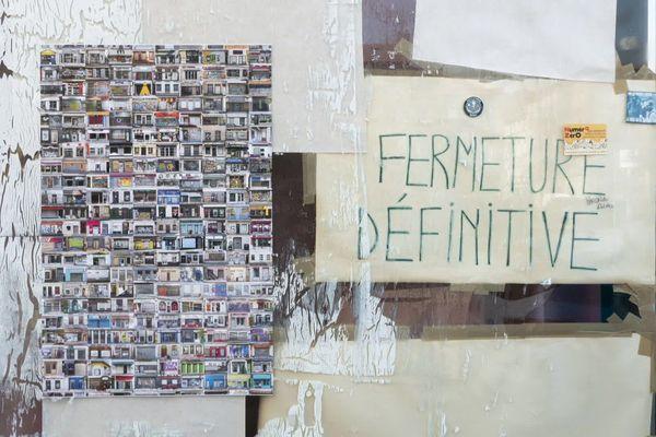 A Saint-Etienne : des commerces fermés du centre-ville immortalisés par la photographe Marie-Suzanne Nourdin