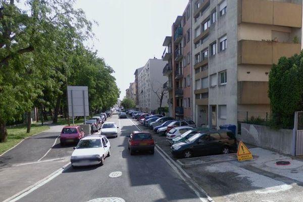 Les faits se sont déroulés rue Roquemaurel à Toulouse