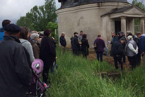 La cérémonie d'hommage aux victimes de l'amiante mardi matin à Terssac (Tarn)