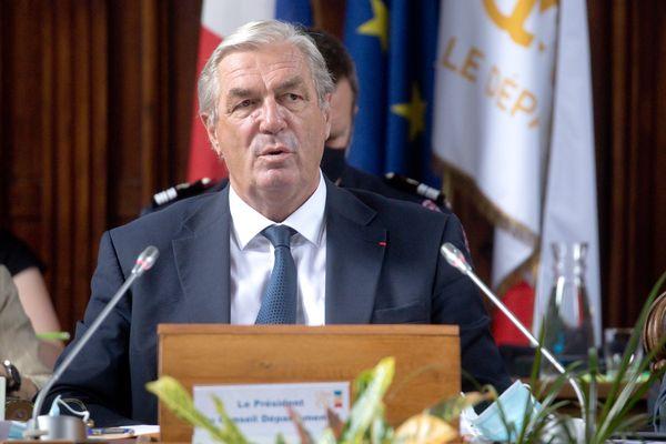 François Sauvadet a été réélu au conseil départemental de la Côte-d'Or le 1er juillet dernier.