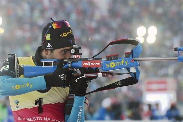 Une nouvelle victoire pour le catalan Martin Fourcade, qui dispute la Coupe du Monde de Biathlon à Nove Mesto, en République Tchèque.