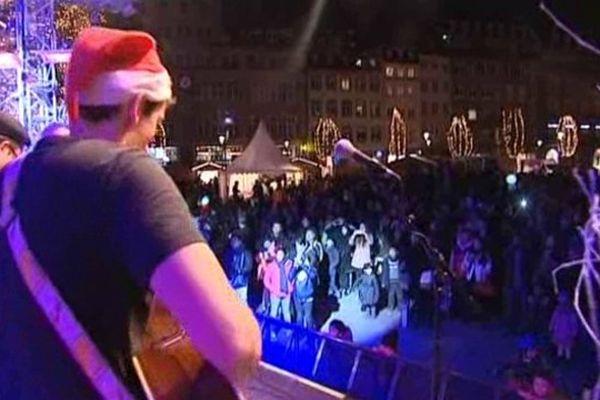 Apéritif musical place Kléber à Strasbourg mardi soir