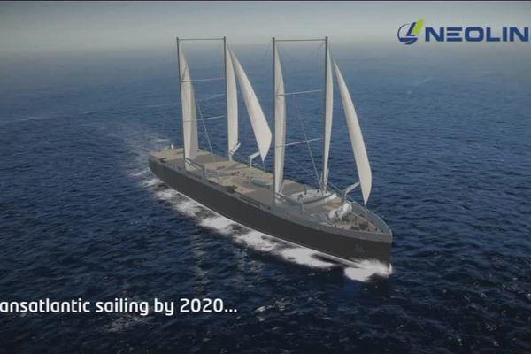 D'ici 2020, c'est peut-être à bord de ce type de cargo que les marchandises seront expédiées Outre-Atlantique