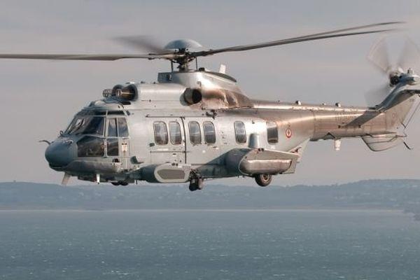 L'hélicoptère EC 225 de la Marine Nationale a été envoyé sur zone