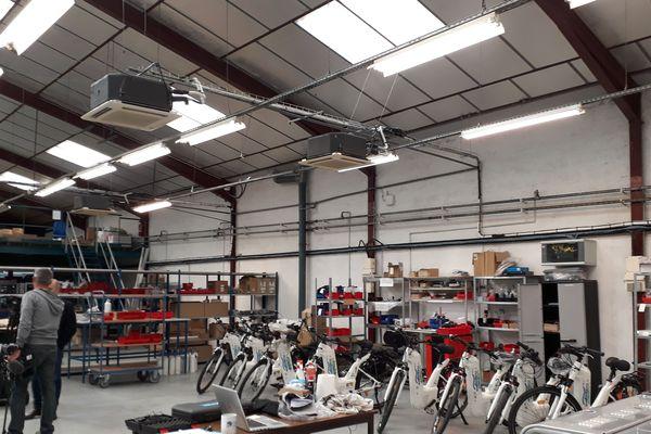 Pays Basque : l'atelier de l'entreprise où sont fabriqués ces vélos roulant à l'hydrogène