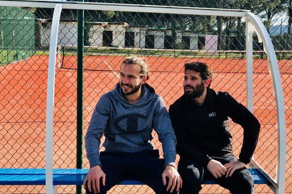 Michel Moretti et Gilles Cioni