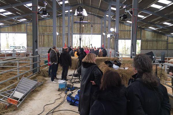 L'émission a été enregistrée mardi 30 janvier 2018 dans la nouvelle stabulation du lycée agricoles des Vaseix