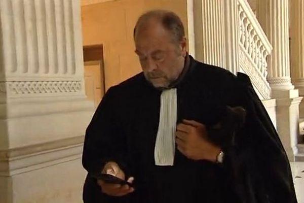 Me Éric Dupond-Moretti, l'un des avocats du médecin d'Alès aux assises du Gard, à Nîmes - 30 novembre 2015