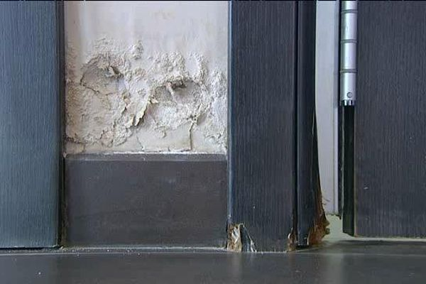 Dans ce salon de thé de Moriani-Plage, les dégâts sont estimés à 15.000 euros.