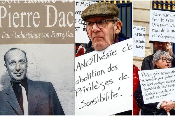 A Châlons-en-Champagne, des passionnés perpétuent la mémoire de Pierre Dac, résistant, humoriste et homme de radio
