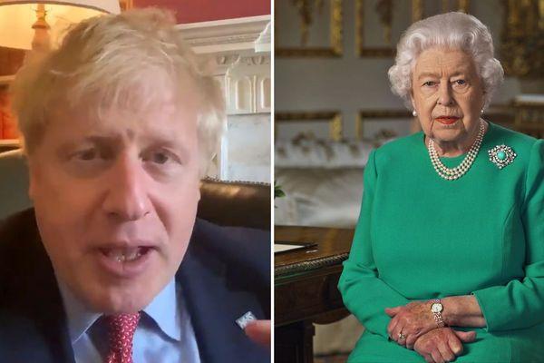 Boris Johnson / La reine Elisabeth II